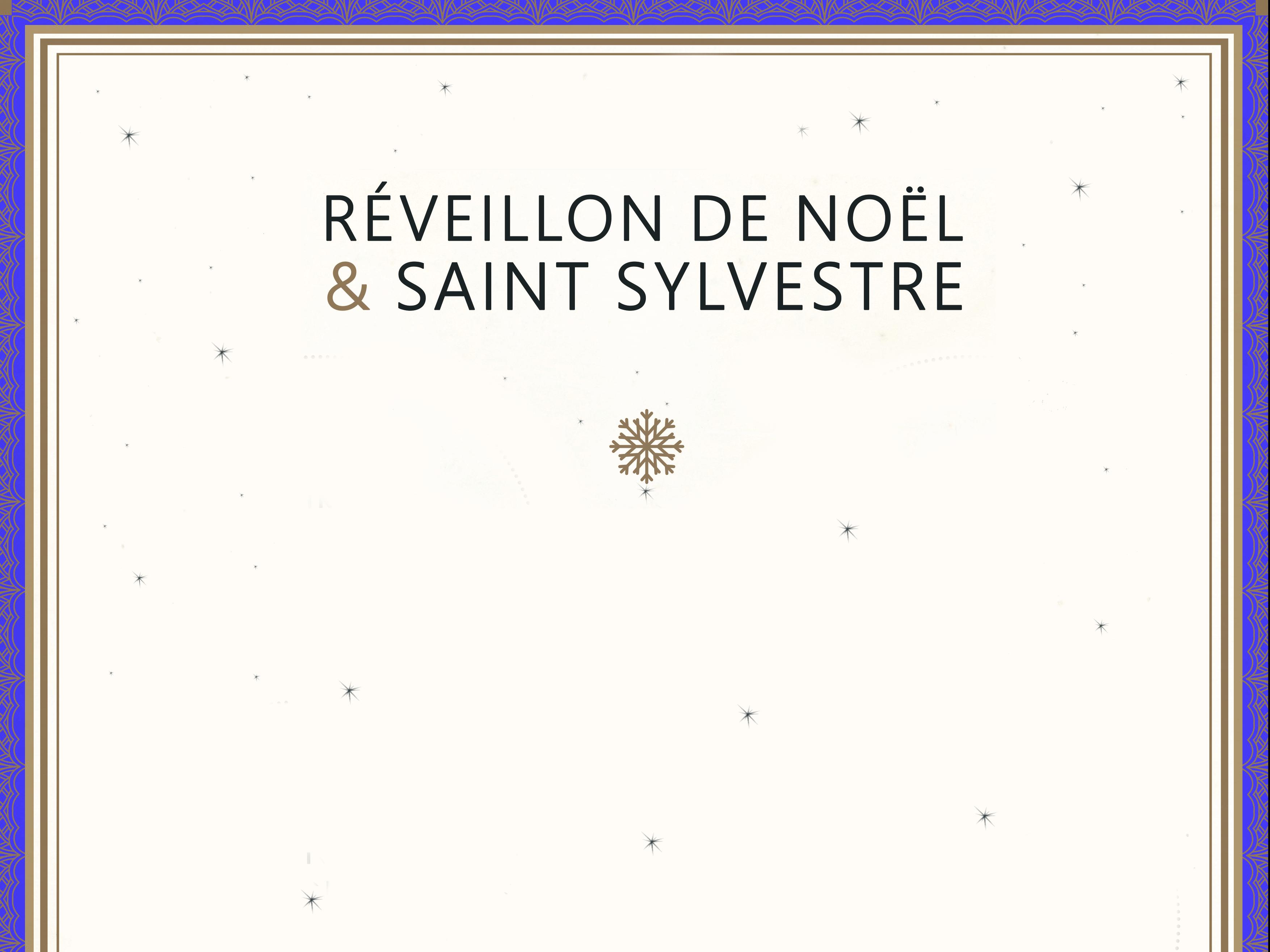 noël & saint sylvestre